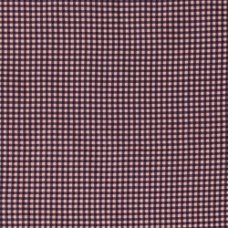 Woven cotton powder/purple check