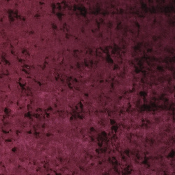 Stretch chenille blank bordeaux