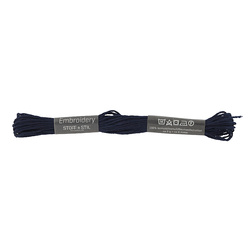 Embrodery yarn navy blue 8m