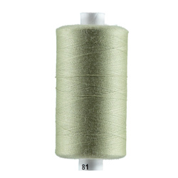 Sewing thread pale green 1000m