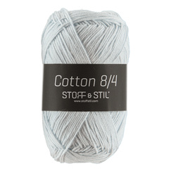 Garn Cotton 8/4 sart blå.