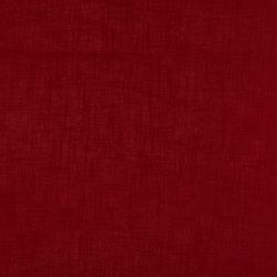 Coarse linen/viscose dark red