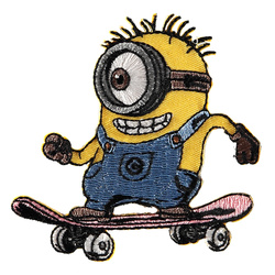 Patch MINIONS 76x78mm skateboard 1pcs