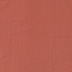 Coarse linen/viscose tomato red