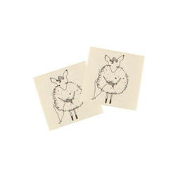 Patch 32x32mm nature sheep 2 pcs