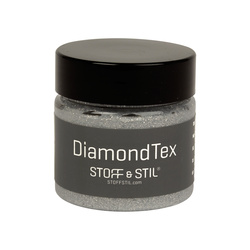 Tekstilmaling Diamond sølv 50ml