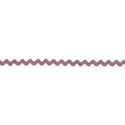 Ric rac ribbon 5mm dusty rose 3m