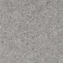 Wool felt light grey melange