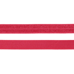 Foldestrikk cerise 14 mm 3m