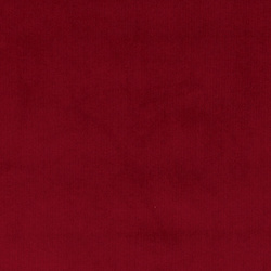 Upholstery velvet dark red