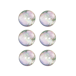Button mother of pearl 18mm 6 pcs