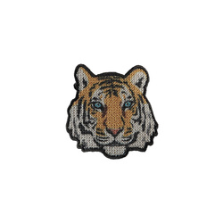 Stoffapplikation Tiger 55x55mm 1Stk